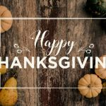 November 28, 2020 – Giving Thanks Amid Chaos