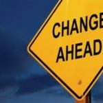 May 15, 2021 – Change in the Church